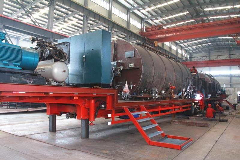 horizontal gas fired boiler factory
