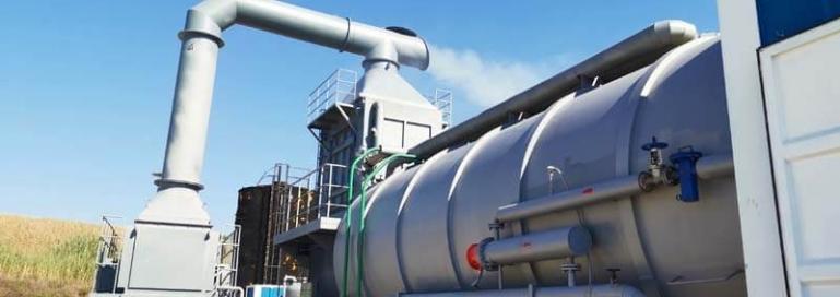 oilfield steam generator