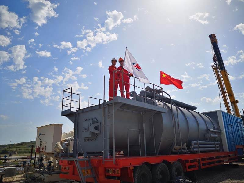 thermal recovery solutions albania
