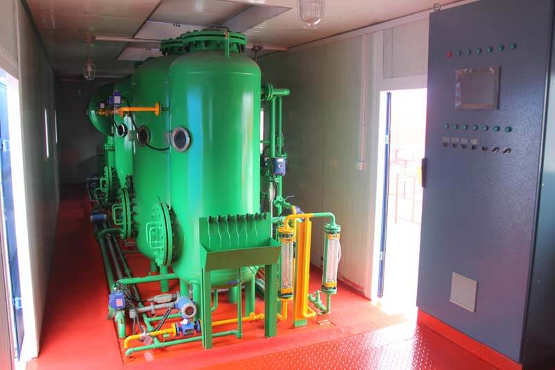 vehicular water treatment devices